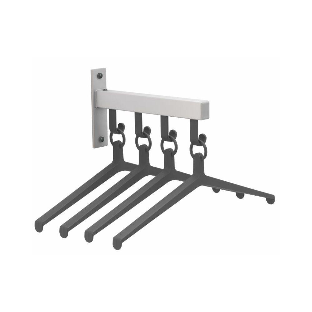Ilium H28K garderobe element met 4 hangers
