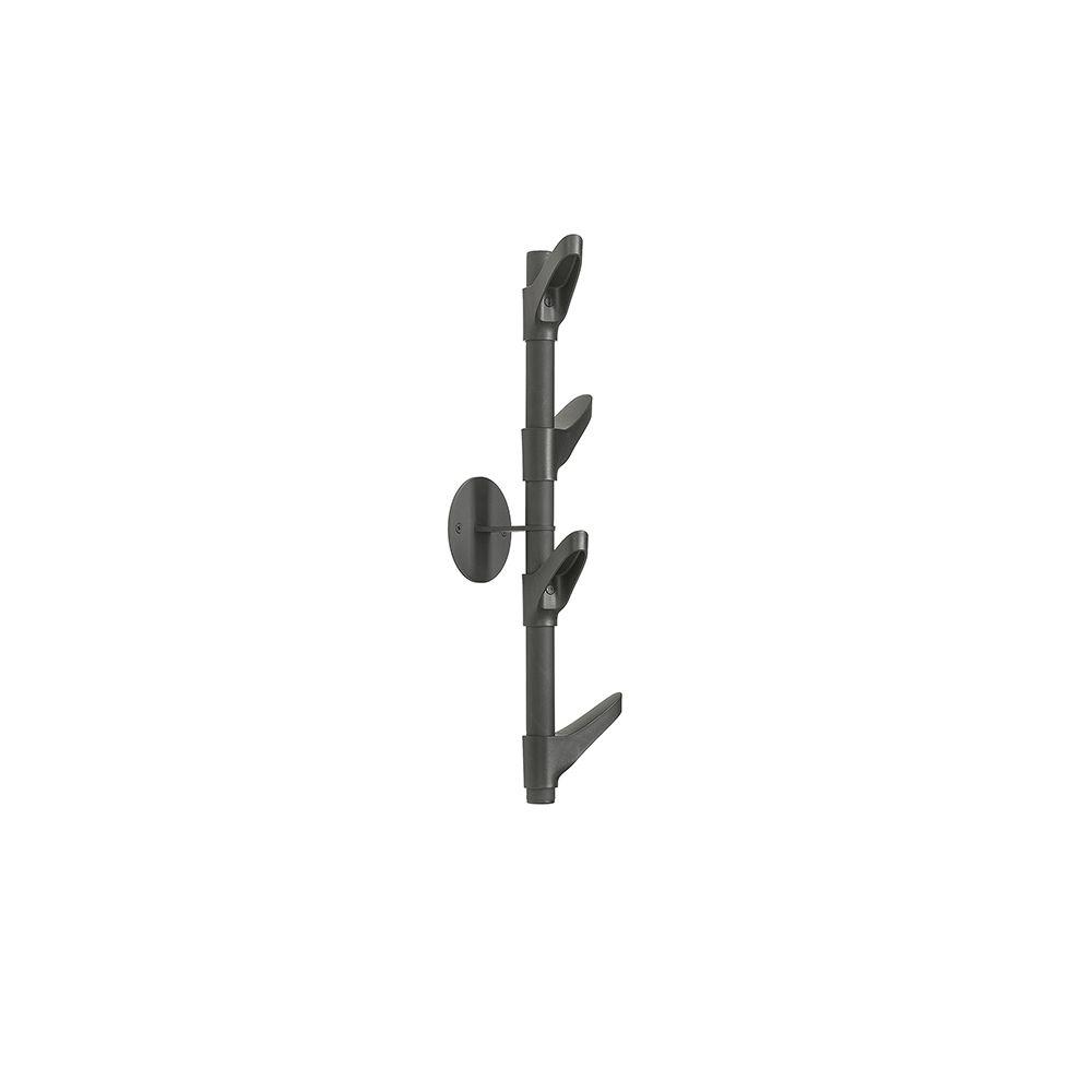 Van Esch Slide W1 wandkapstok - zwart