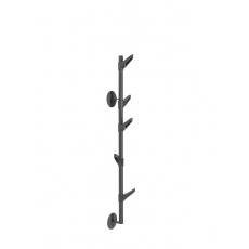 Van Esch Slide W2 wandkapstok - zwart