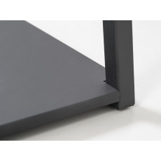 Voetplaat tbv Van Esch kledingrek Butler - zwart