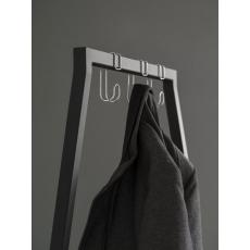 Set van 3 chromen haken tbv Van Esch kledingrek Butler