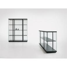 Van Esch Stolp vitrinekast - High