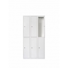 Van Esch Atlantis stalen locker SG3302 - wit