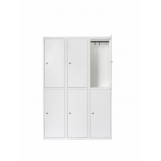 Van Esch Atlantis stalen locker SG3402 - wit
