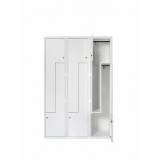 Van Esch Atlantis stalen locker SZ3402 - wit
