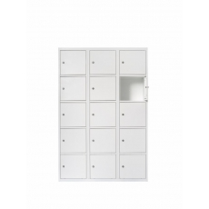 Van Esch Atlantis stalen locker SV3405 - wit