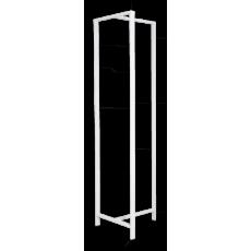 Van Esch Frame DV47 vrijstaand garderoberek - wit
