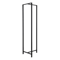 Van Esch Frame DV47 vrijstaand garderoberek - zwart