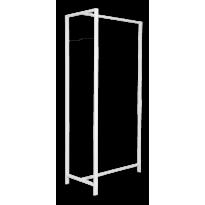 Van Esch Frame DV89 vrijstaand garderoberek - wit