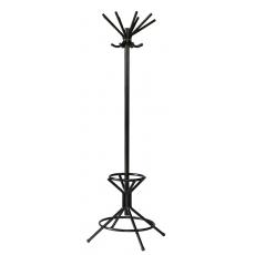 Basic staande kapstok met parapluhouder 200210 - zwart