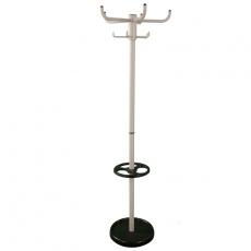 Basic staande kapstok  met parapluhouder High Five - grijs