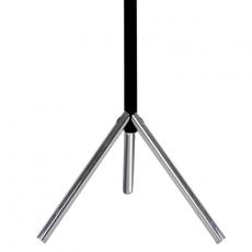 Basic staande kapstok  Linair - mat zwart/chroom