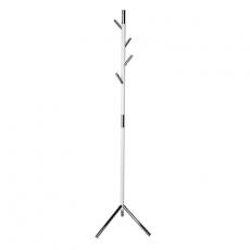 Basic staande kapstok  Linair - wit/chroom