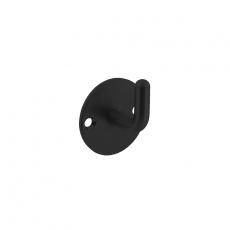 Jashaak rond  op achterplaat Ø45mm zwart