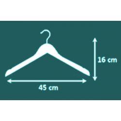 Unilux Vesta kledinghangers beuken (set 25 stuks)