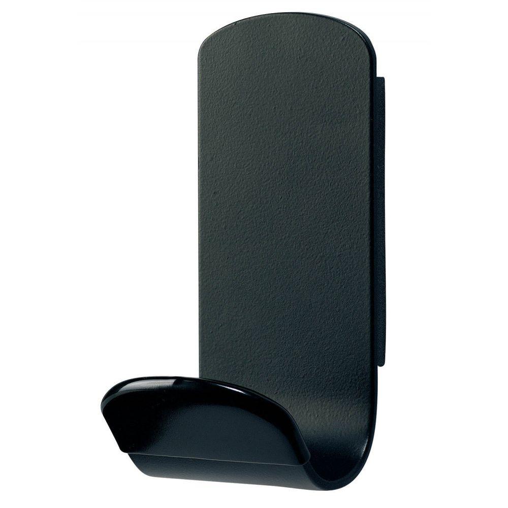 Unilux Steely magnetische kapstokhaak - zwart