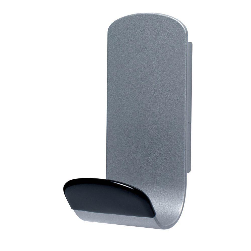 Unilux Steely magnetische kapstokhaak - grijs