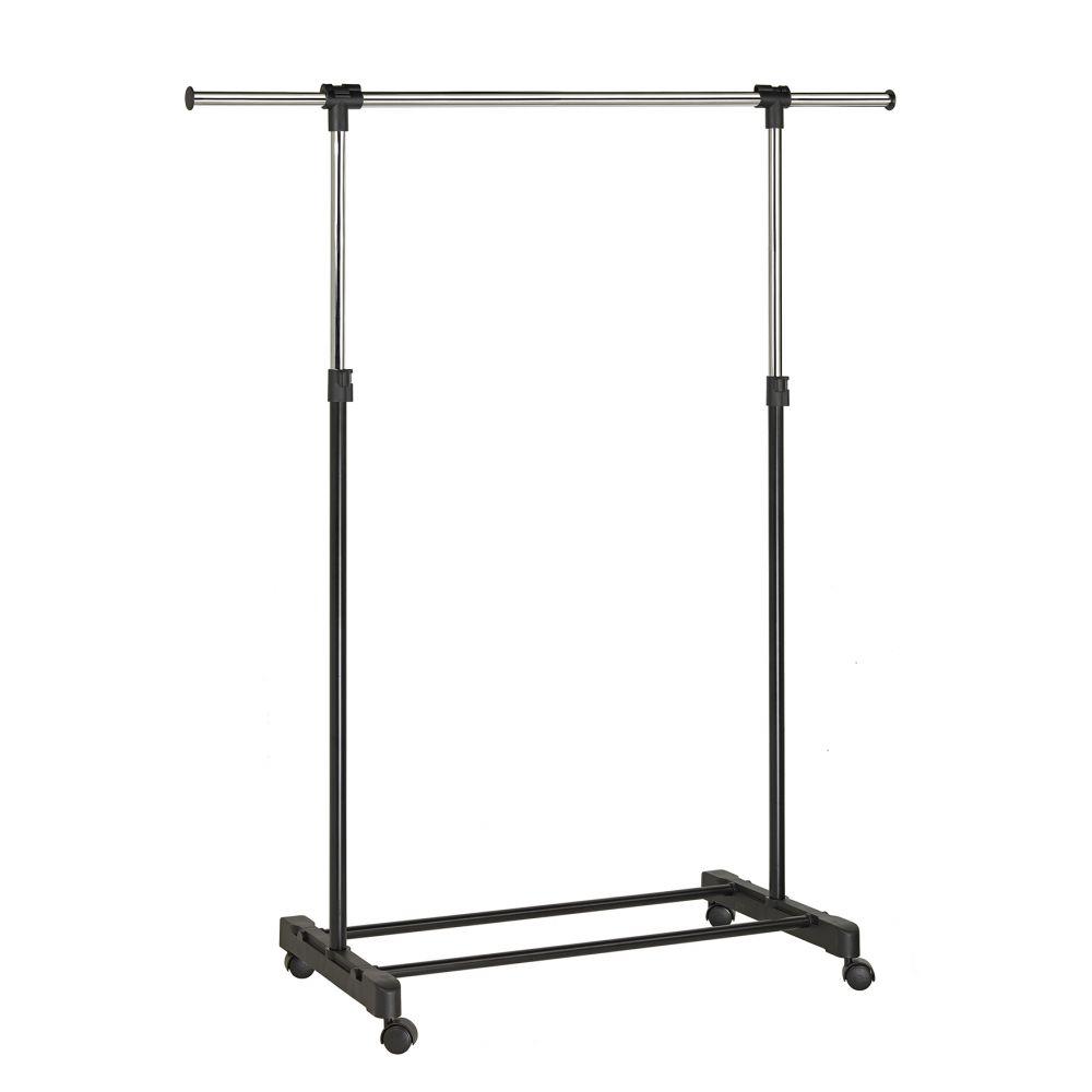 Unilux Extend kledingrek - chroom/zwart
