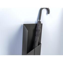 Van Esch Tangram design paraplubak - zwart