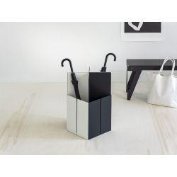 Van Esch Tangram design paraplubak - wit