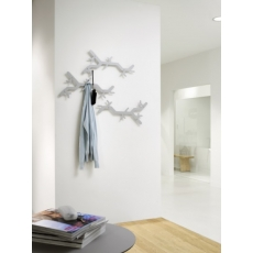 Van Esch Tree Hooked wandkapstok - metallicgrijs