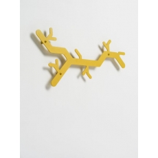 Van Esch Tree Hooked wandkapstok - Okergeel