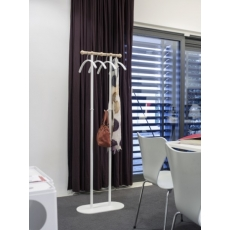 Van Esch Philippe garderobestandaard - Wit