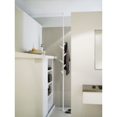 Van Esch Slide vloer-plafond garderobe - wit