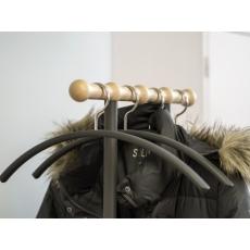 Van Esch Philippe garderobestandaard - Donkergrijs