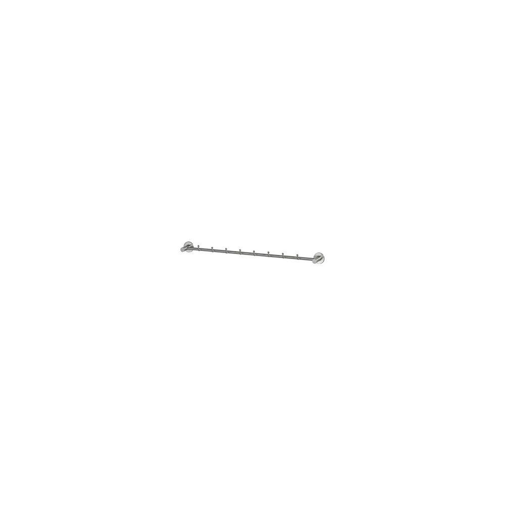 Intersteel jashaakrek enkel met 8 haakjes RVS
