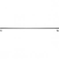 Garderobestang RVS inclusief steunen - 150cm